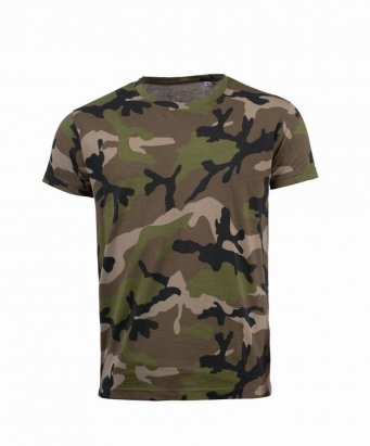 Sol's 01187 Ladies Camo Tee Shirt