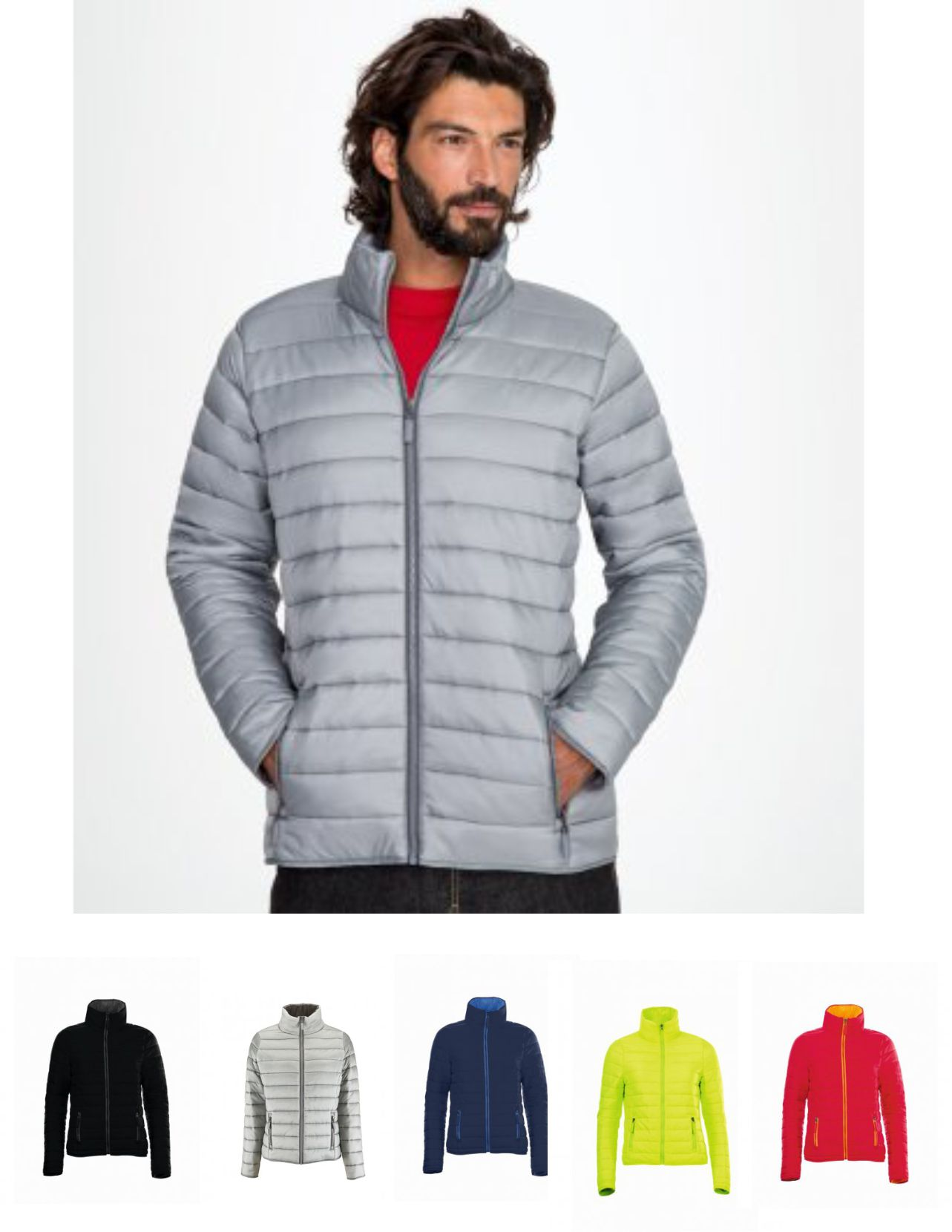 Sol's 01193 Ride Padded Jacket