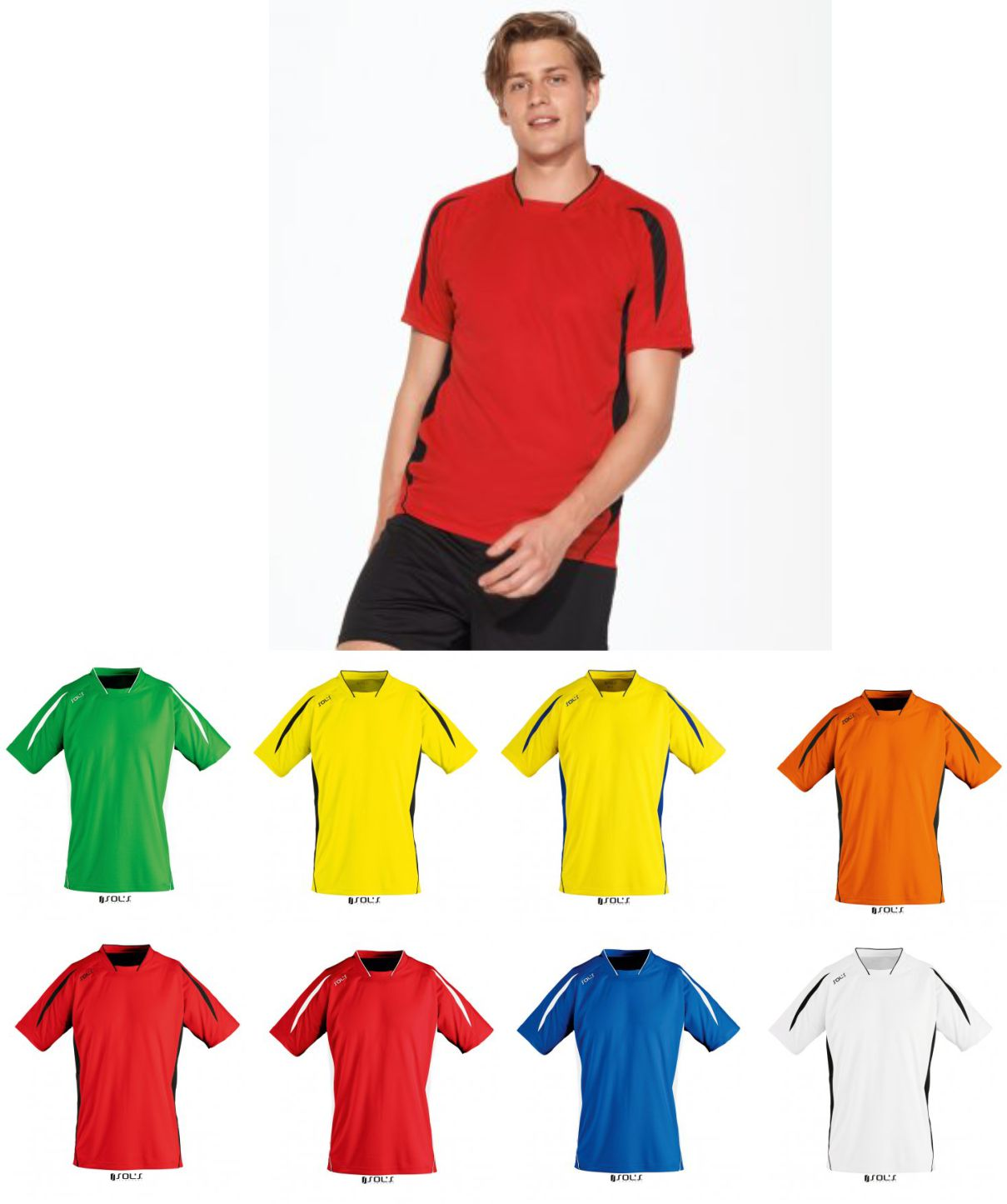 Sol's 01638 Maracana 2 Short Sleeve Shirt