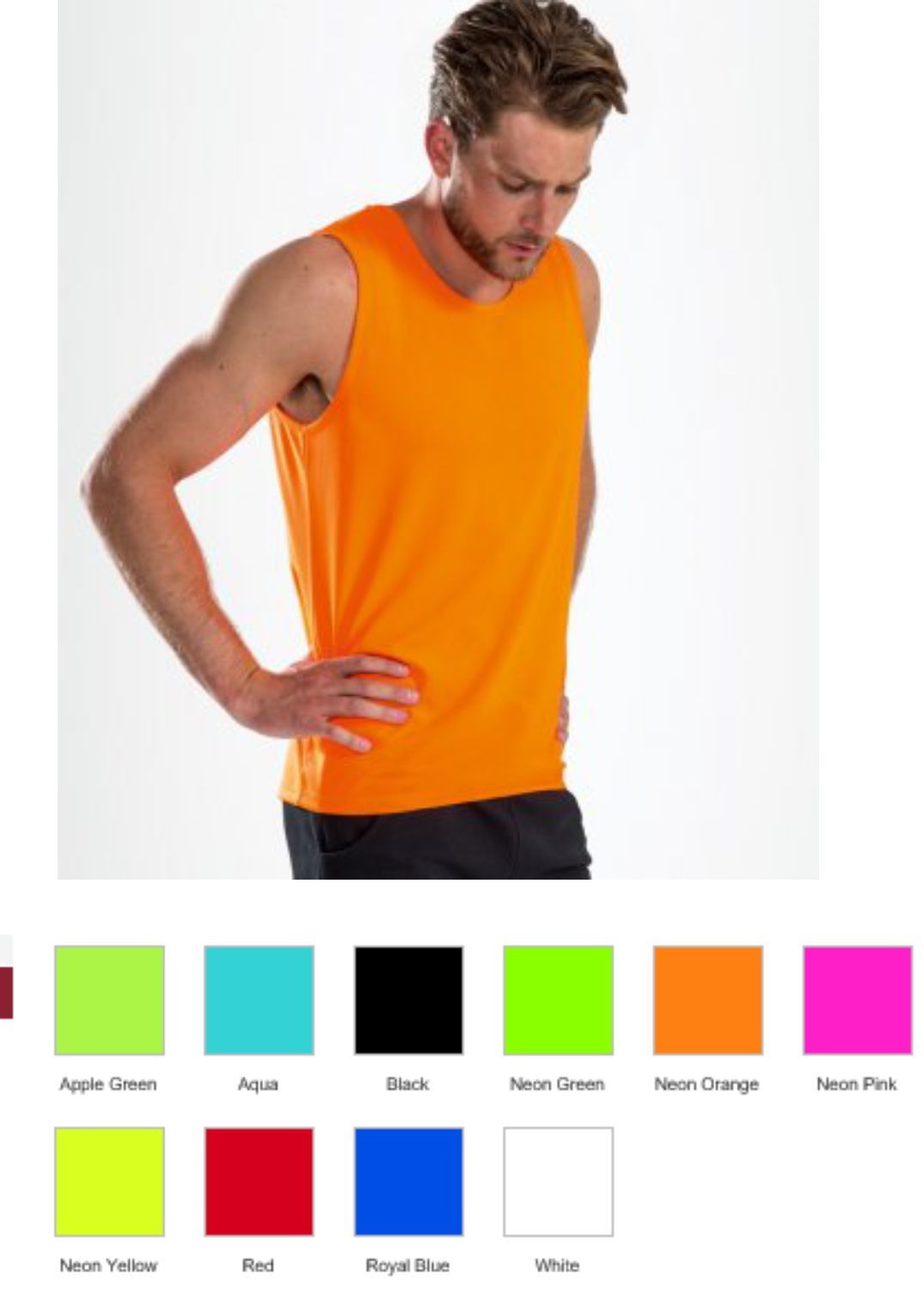 02073 Sol's Sporty Performance Tank Top