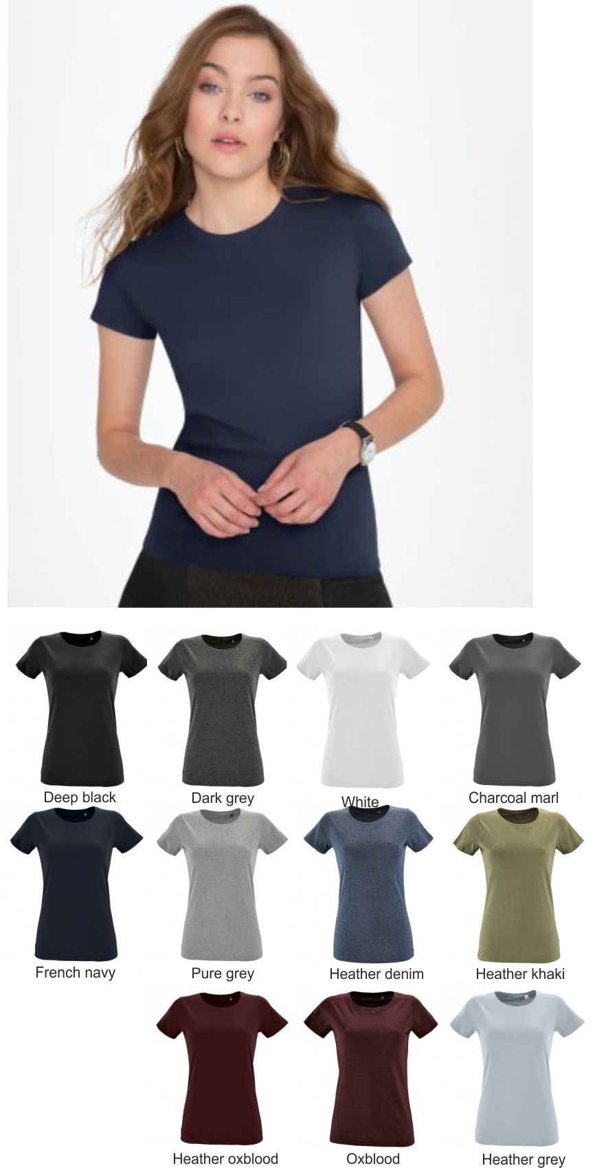 02080 Sol's Ladies Imperial Fit T-shirt