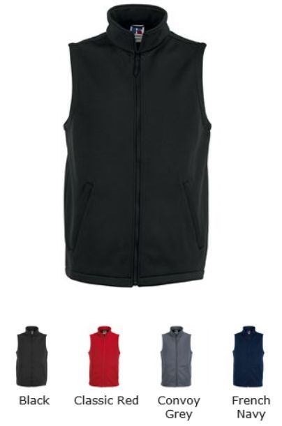 Russell Collection 041M Men's Smartshell Gilet
