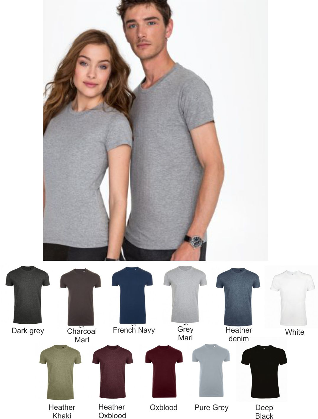 Sol's 10580 Imperial Fit T-Shirt