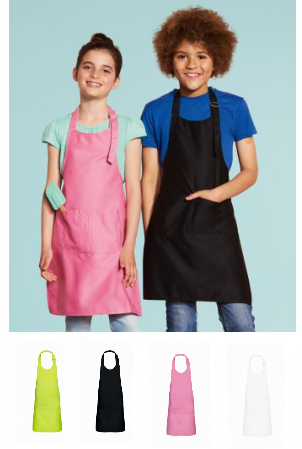Sol's 10599 Kid's Gala long Bib Apron