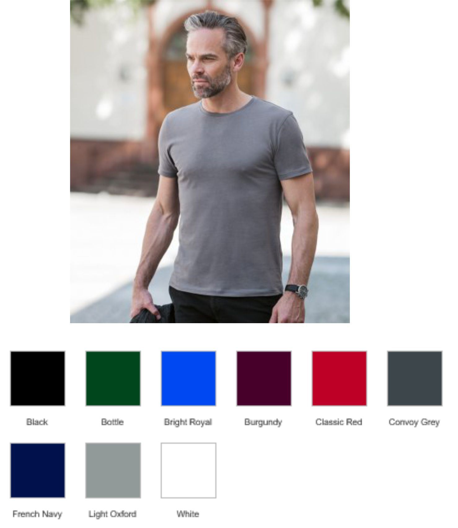 Russell's 108M Authentic Pure Organic T-Shirt