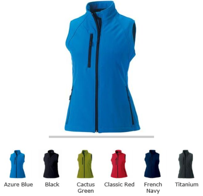 Russell Collection 141F Ladies Softshell Gilet