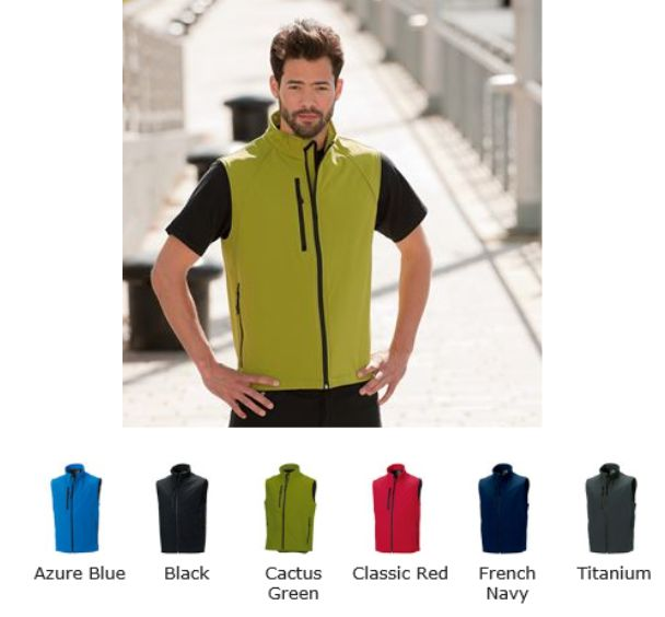 Russell Collection 141M Soft Shell Gilet