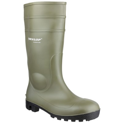 Dunlop 142VP Protomastor Green Full Safety Wellington