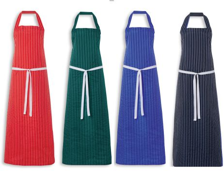 2608 Regular Length Twin Stripe Nylon Apron
