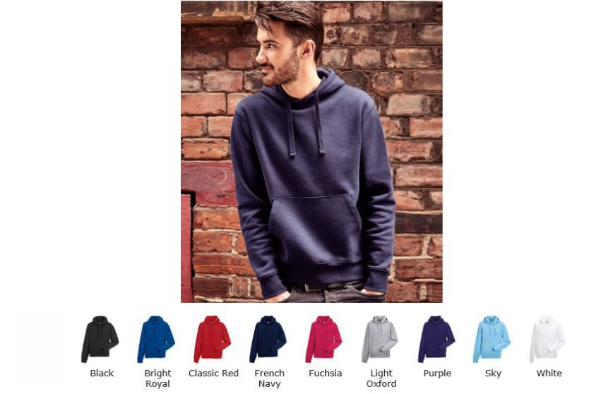 Russell 265M Authentic Hooded Sweat