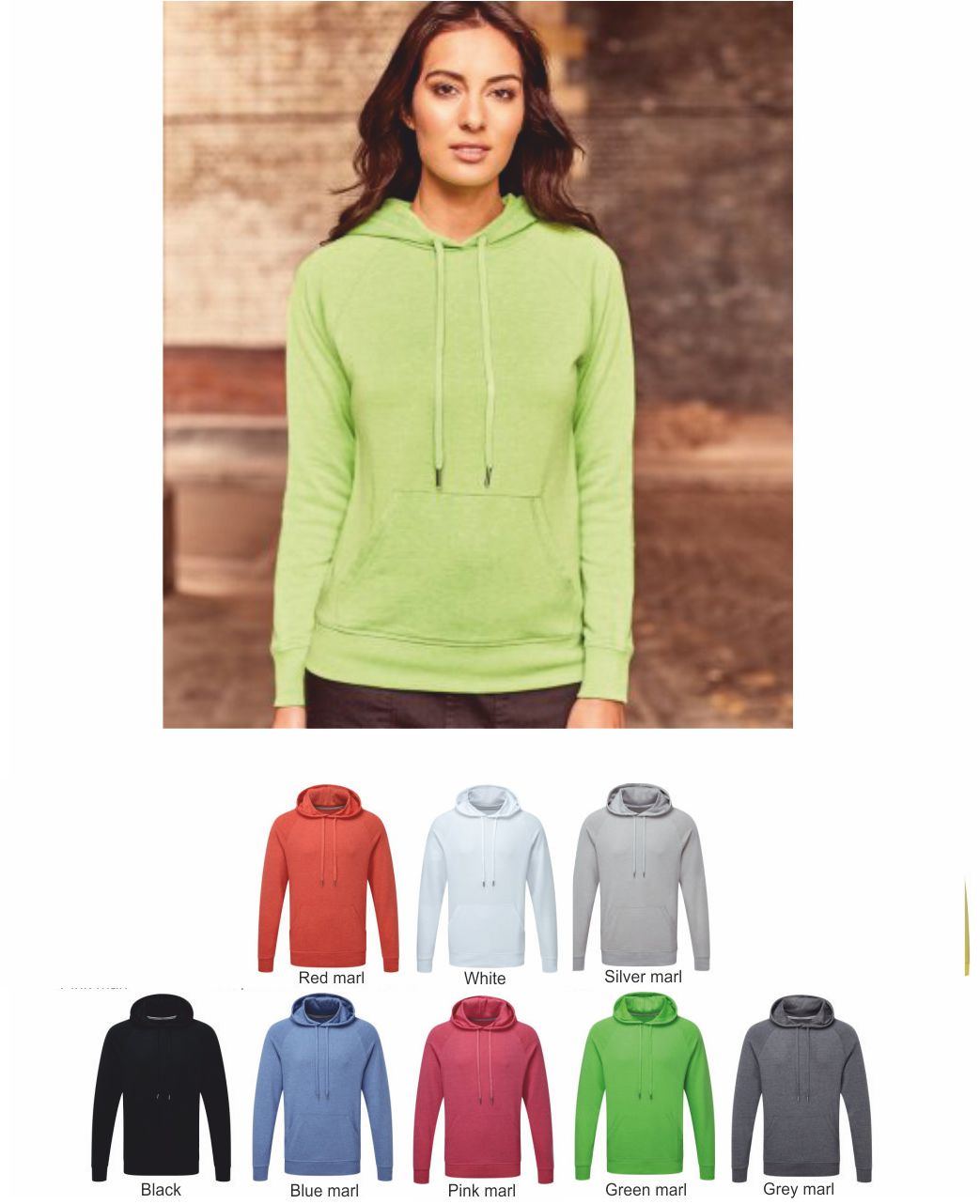 Russell's 281F Ladies HD Hooded Sweatshirt