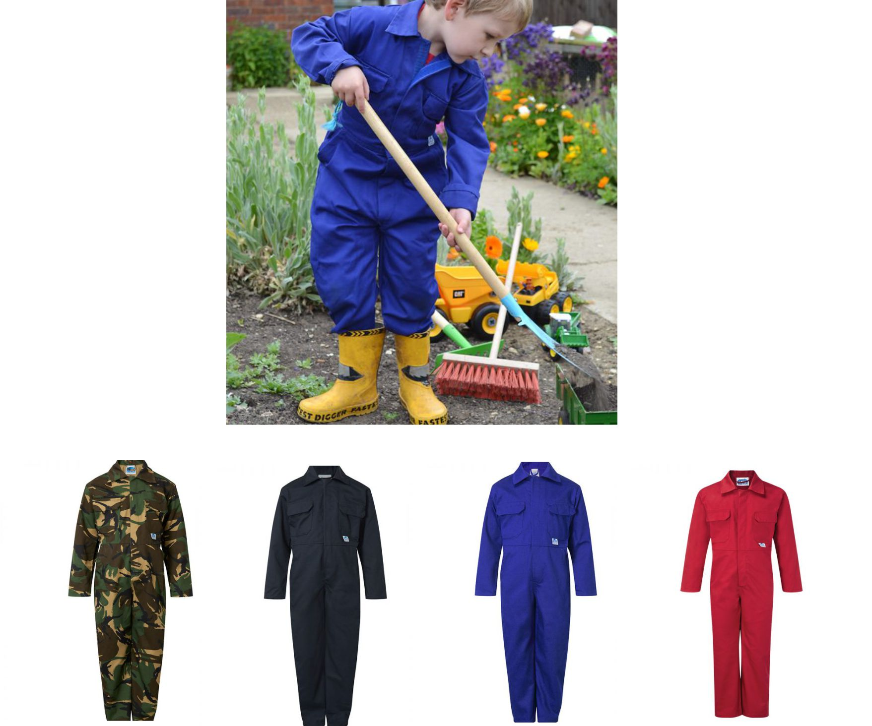 Blue Castle Tearaway Junior Coverall