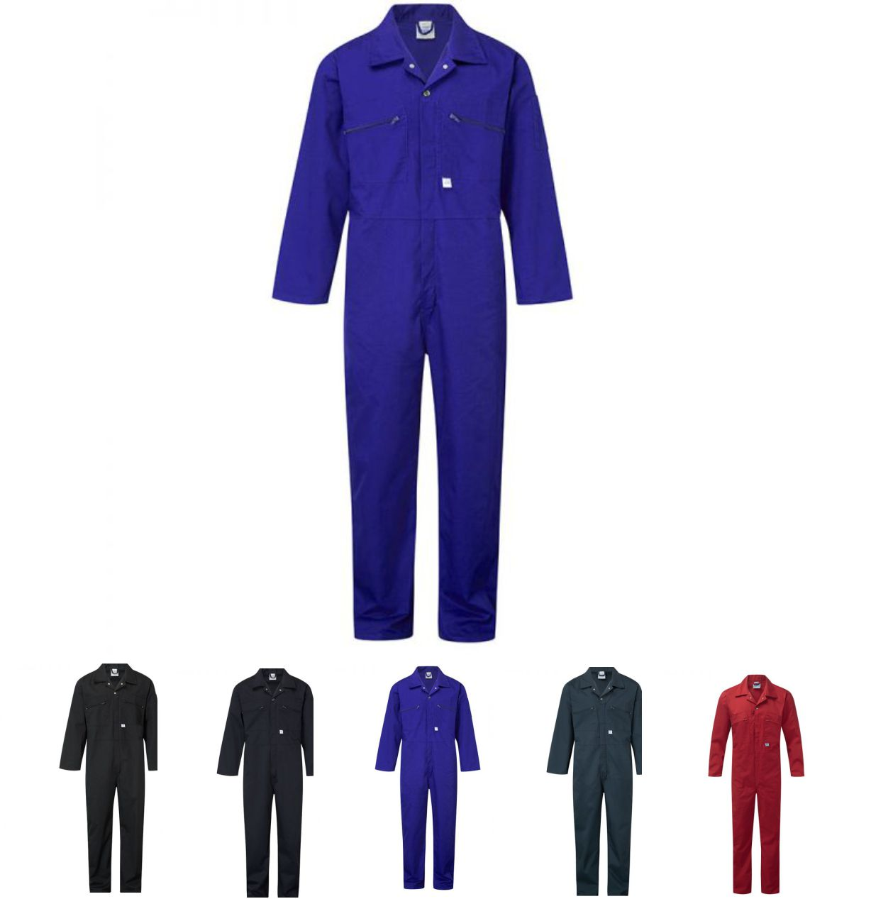 Blue Castle 366 Zip Front Coverall