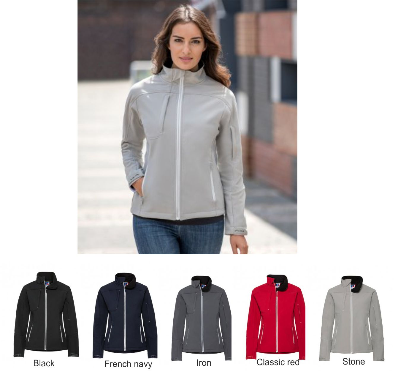Russell 410F Ladies Bionic Soft Shell Jacket