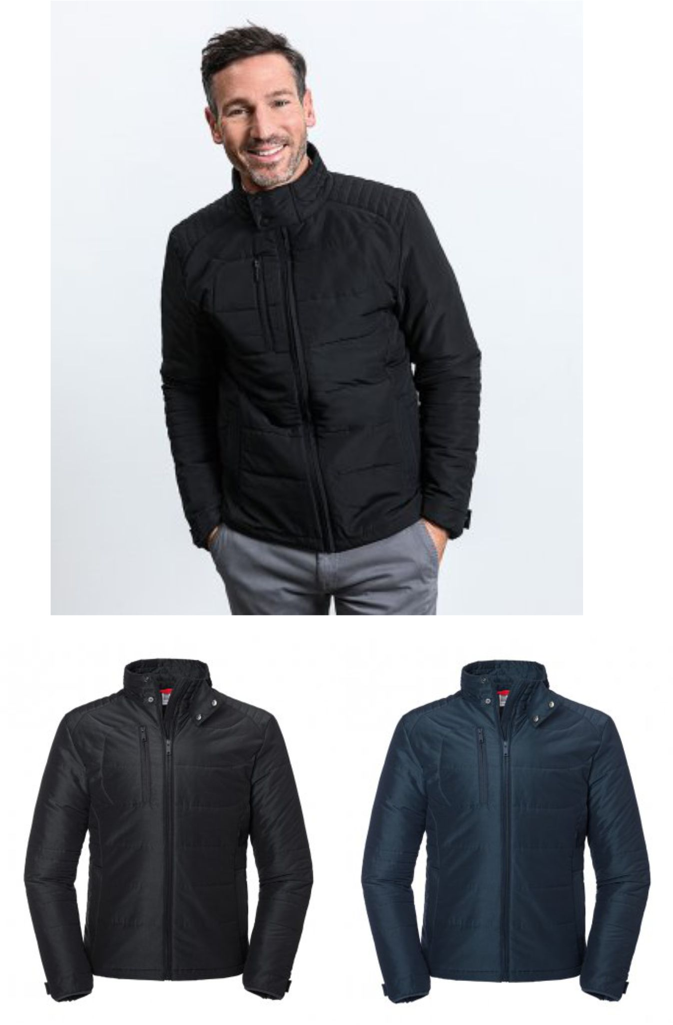 430M Russell Cross Padded Jacket