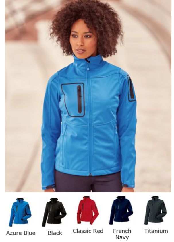 Russell's 520F Ladies Sports Shell 5000