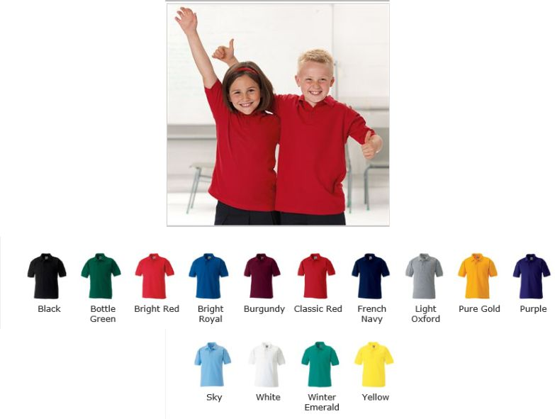 Jerzees 539B childs polo shirt