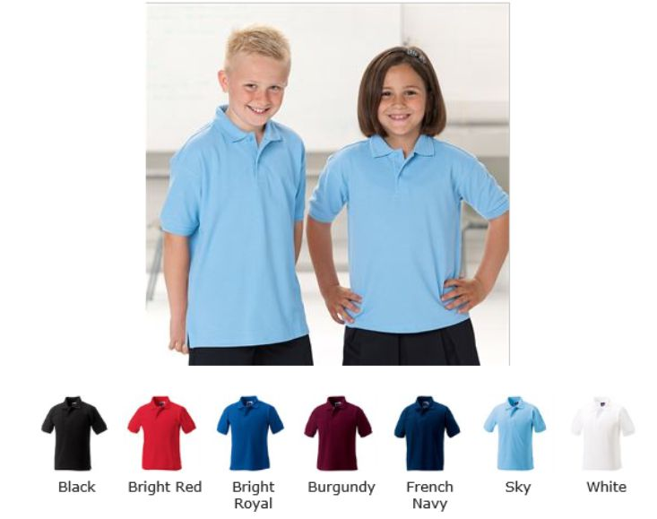 Jerzees 599B Childrens 100% Polo Shirt