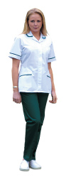 651 Harpoon Round Collar Healthcare Tunic