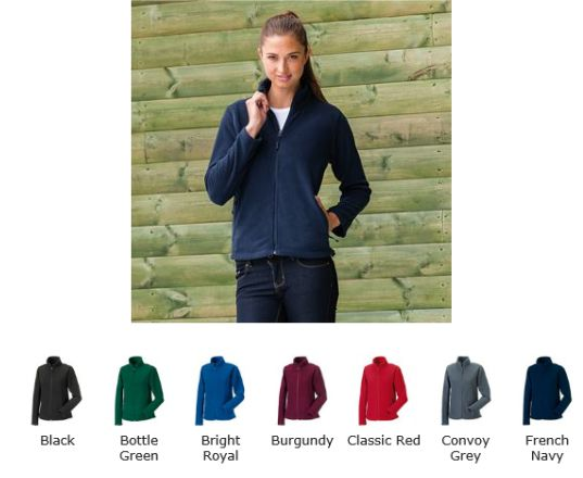 Russell Collection 870F Women's Full Zip Outdoor Fleece