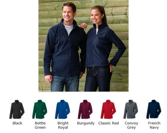 Russell Collection 870M Full Zip Fleece
