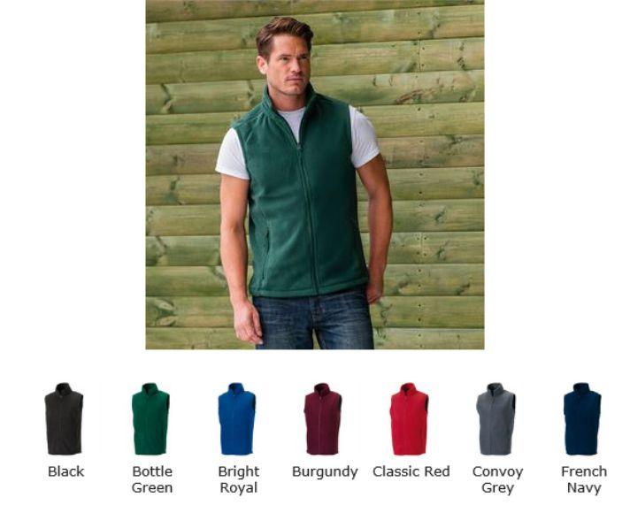 8720M Gilet Outdoor Fleece