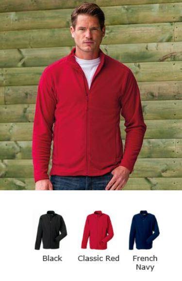 Russel Collection 880M Full Zip Micro Fleece
