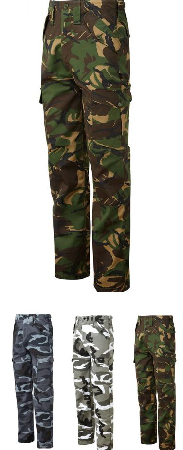 Blue Castle 901 Camo Combat Trousers