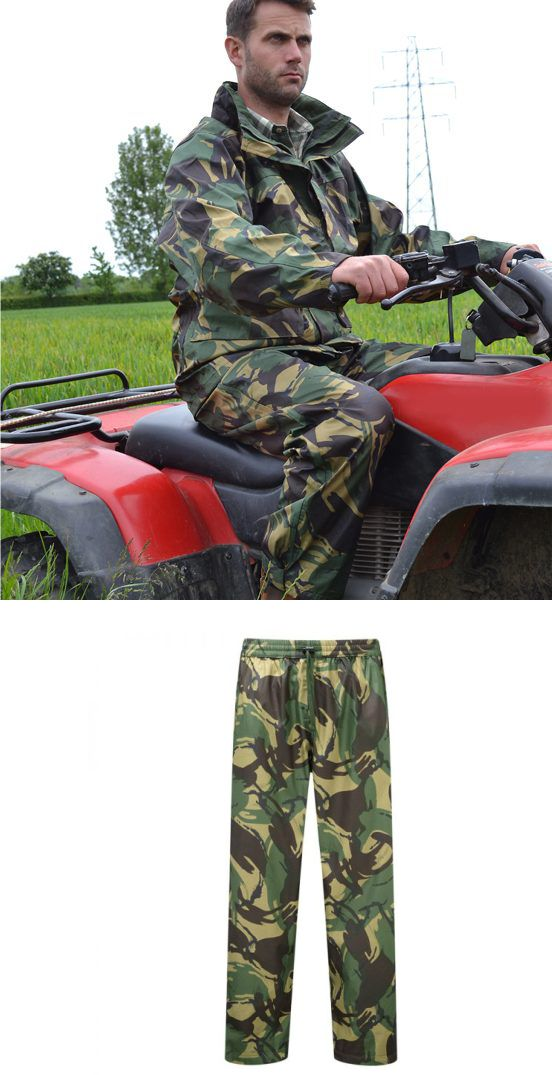 Foretress 914C British DPM Waterproof Trousers