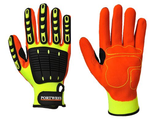 A721 Anti Impact Grip Glove - Nitrile