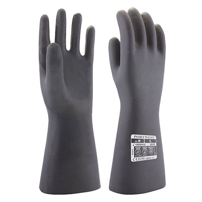 A820 Portwest Neoprene Chemical Gauntlet