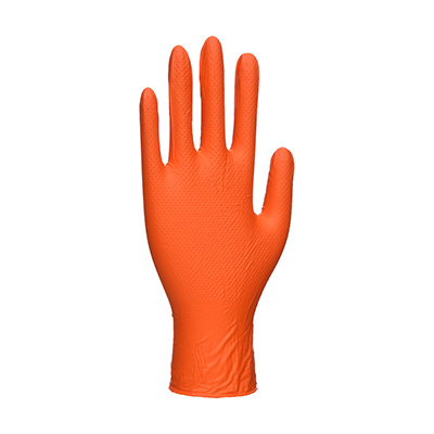 A930 Portwest Orange HD Disposable Gloves