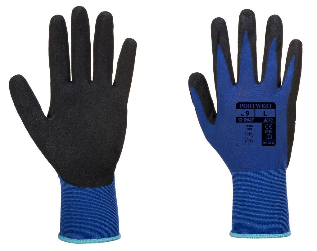 AP70 Portwest Nero Lite Foam Glove
