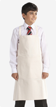 Blue Max Childs Apron with Patch Pocket