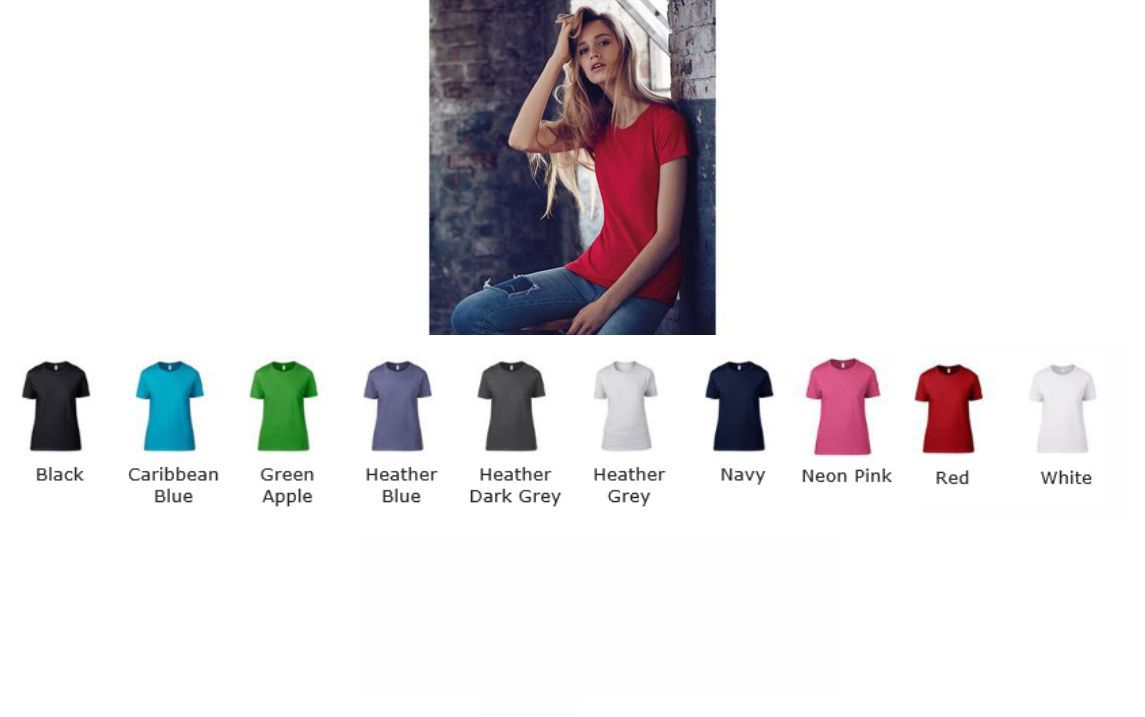 Anvil AV126 Ladies Fashion Basic Tee