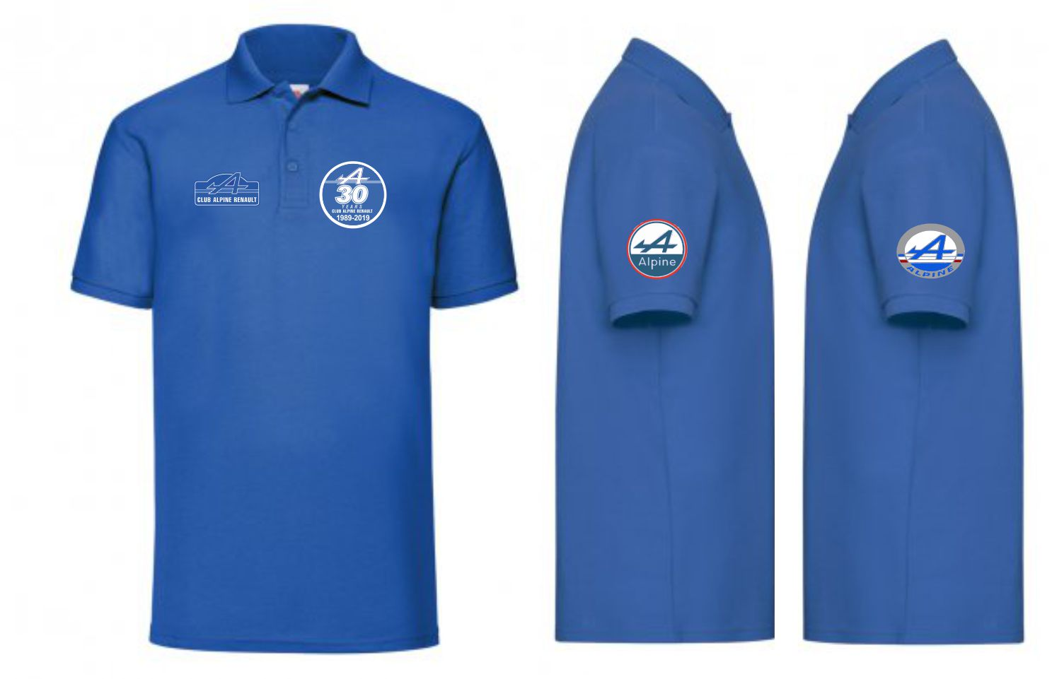 Alpine Renault 30th Anniversary Lady Fit polo shirt