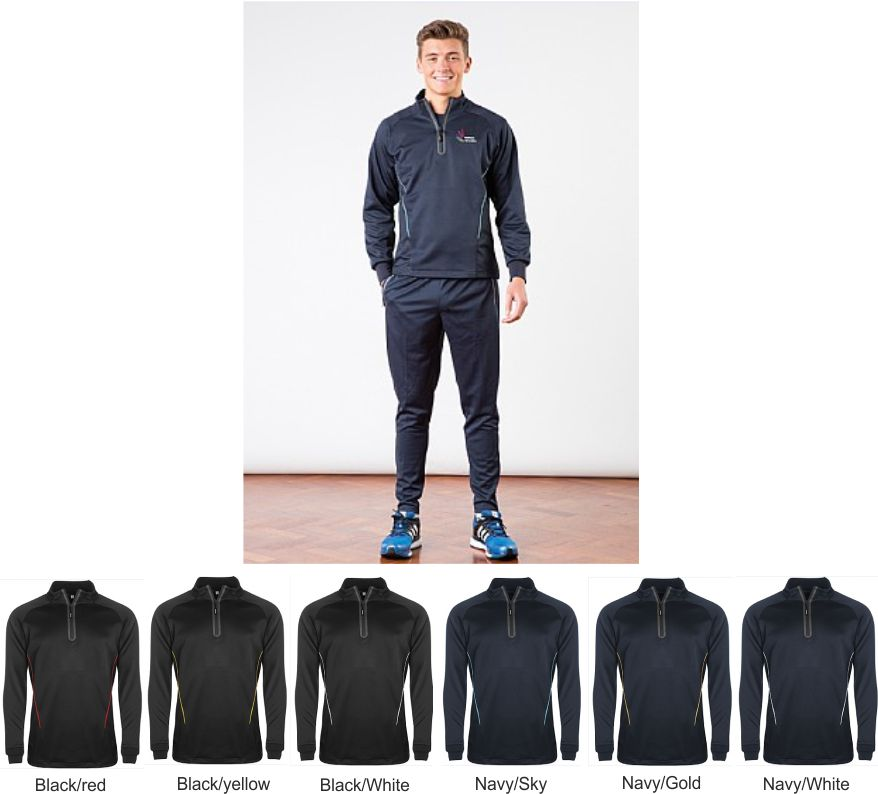 Aptus 1/4 zip Junior Traning Top