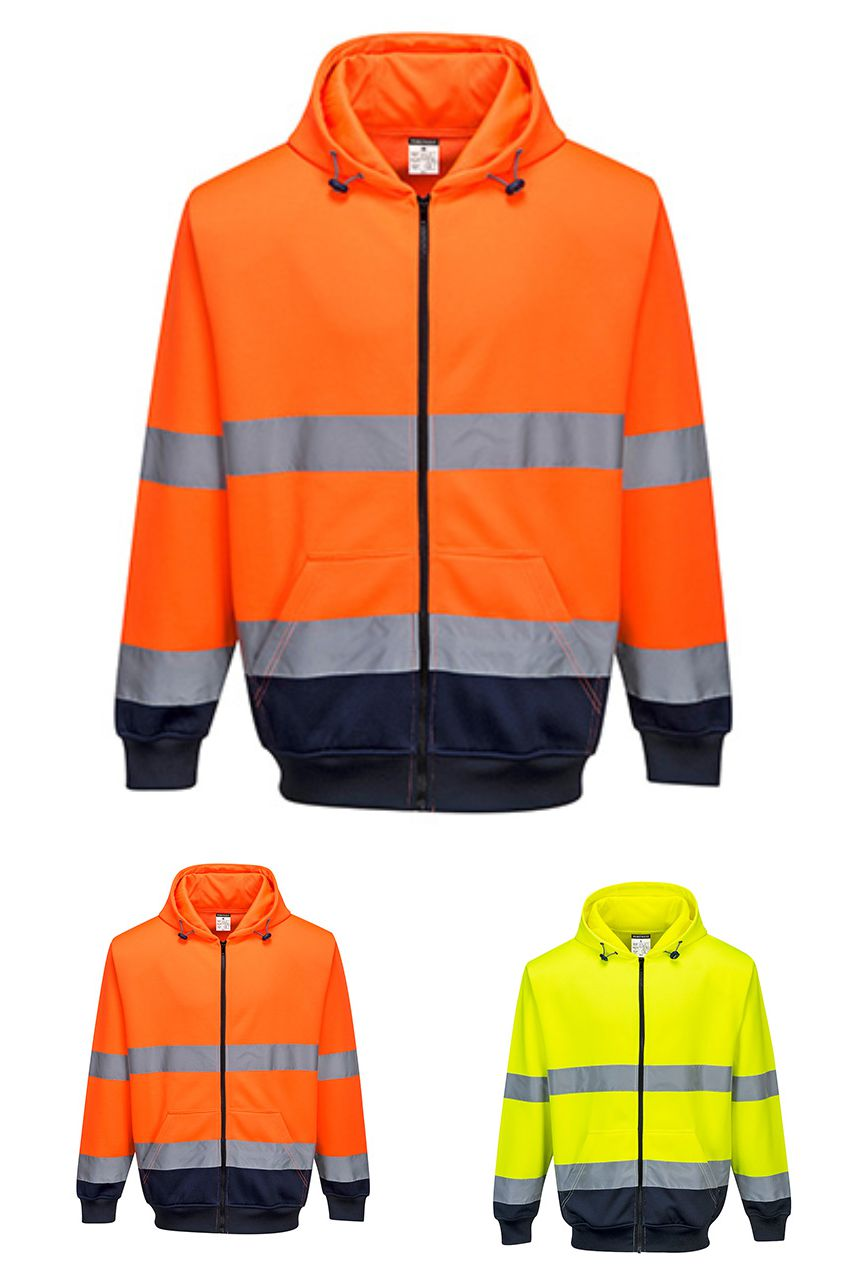 B317 Portwest Two-Tone Zip Front Hood