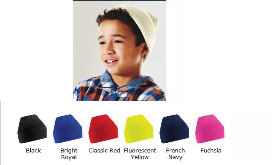 Beechfield B45B Junior Knitted Hat