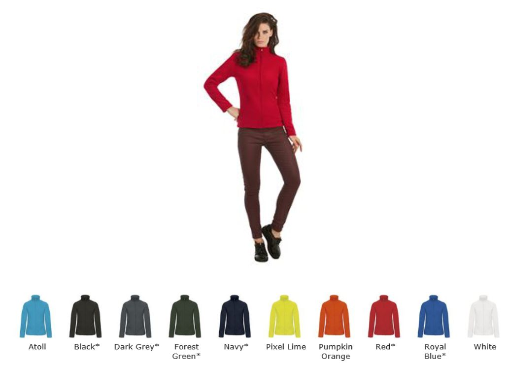 B&C BA408F Ladies ID 501 Fleece