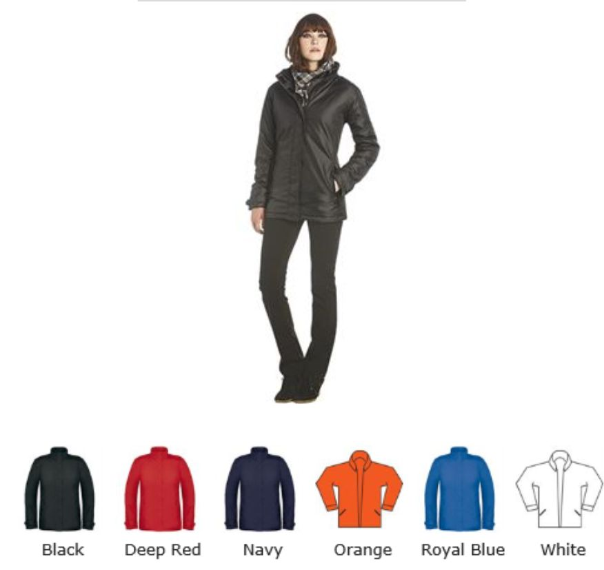 B&C BA603F Ladies Real + Jacket