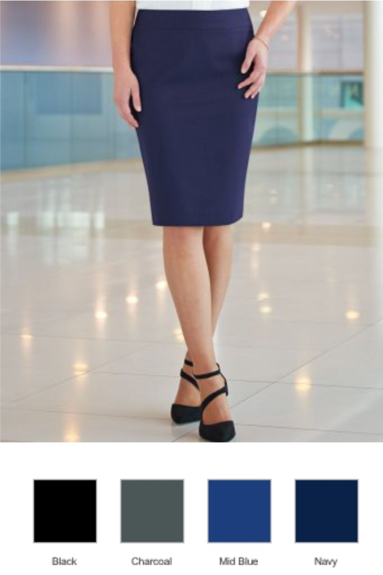 Brook Taverner BK260 Ladies Sophisticated Numana Skirt