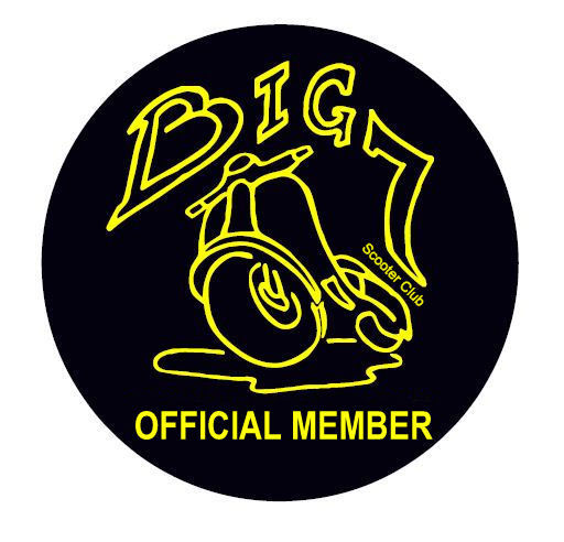 Big 7 Official Member Cloth Badge