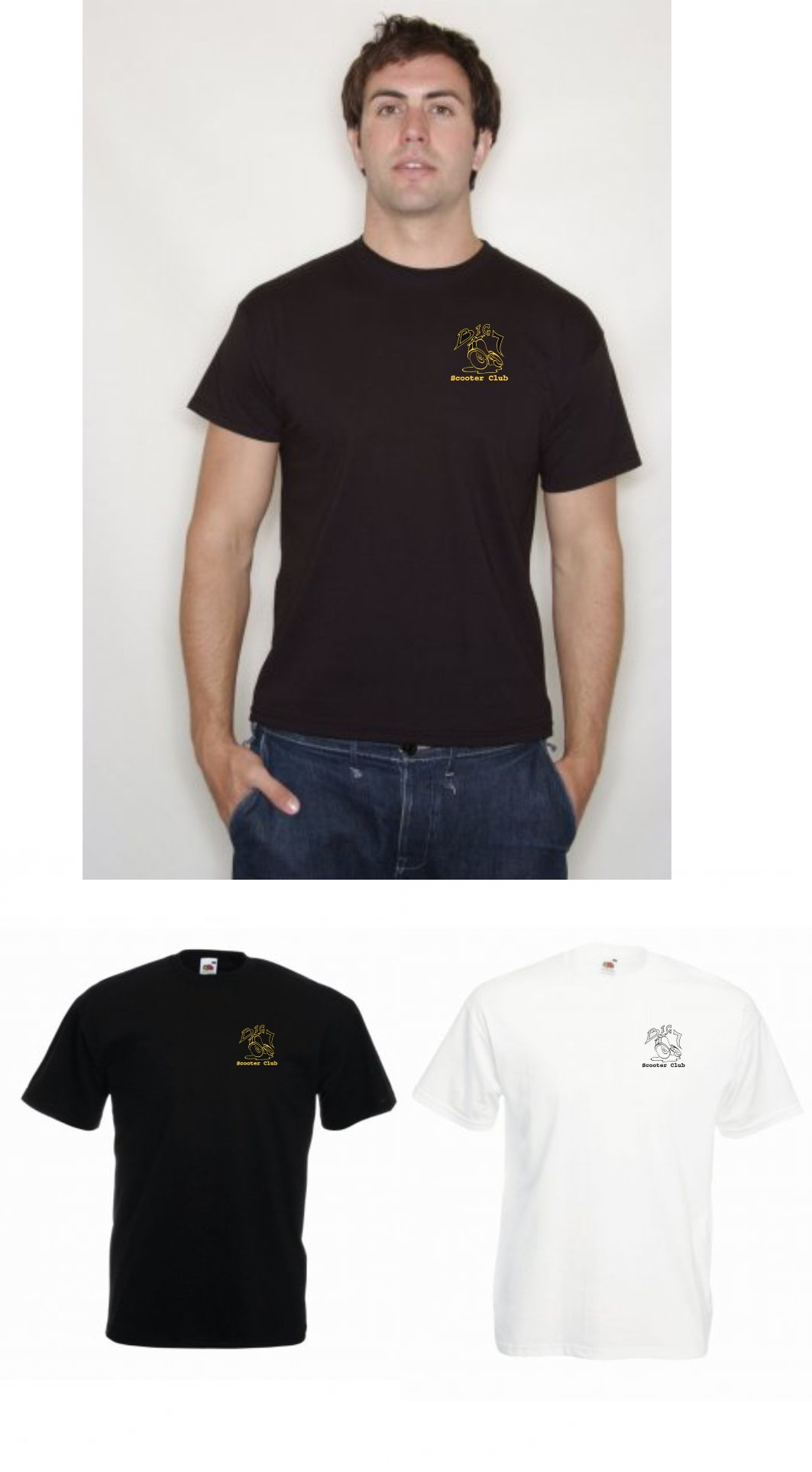 Big 7 Tee Shirt with left hand embroidered logo