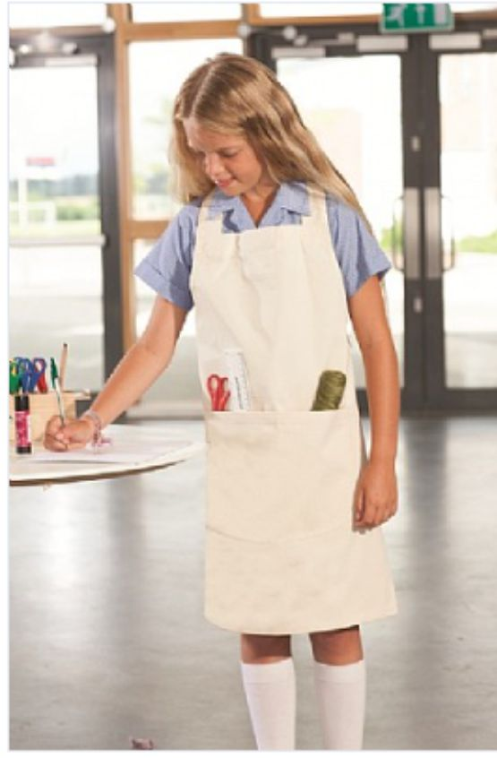 Banner Junior Craft Apron with Patch Pocket