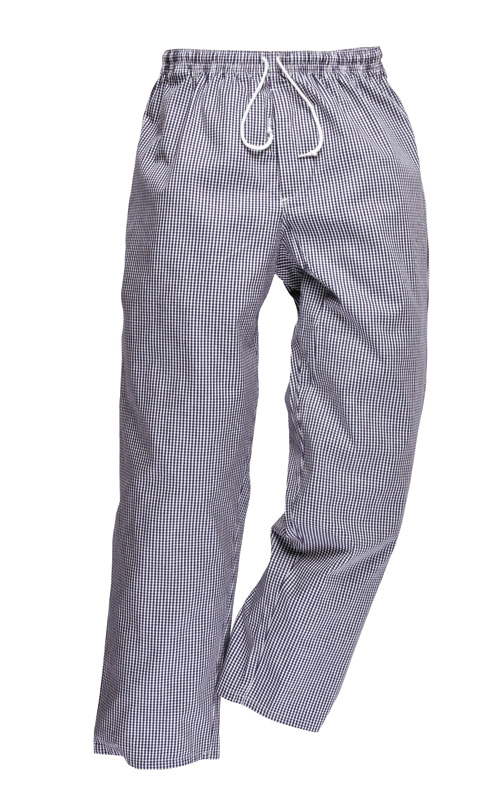 C079 Bromley cotton drawstring chefs trousers
