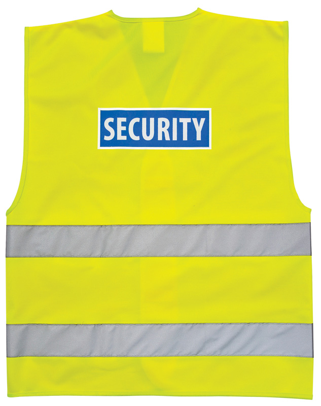 C404 Security Hi Vis Vest