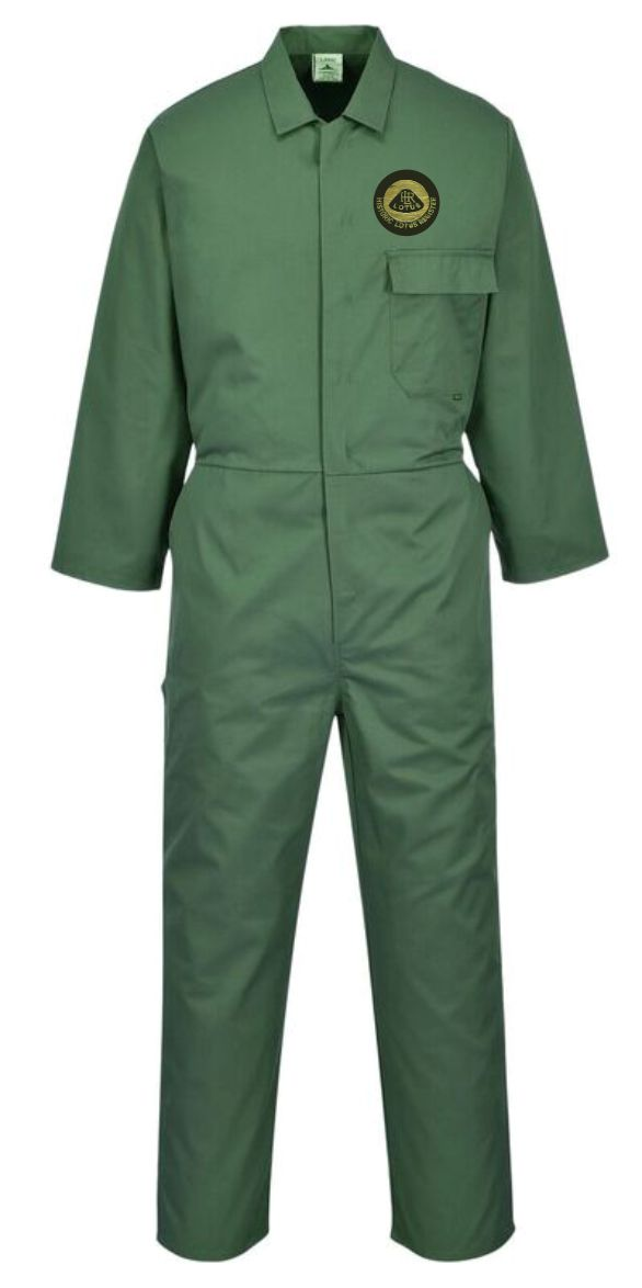 Historic Lotus Register Coveralls