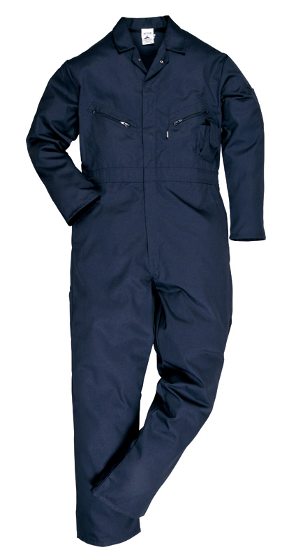 C813 Liverpool Zip Coverall
