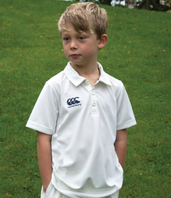 Canterbury CN155B Kid's Cricket Shirt
